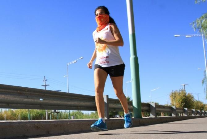 Runners, los que más salieron el primer día de deportes liberados