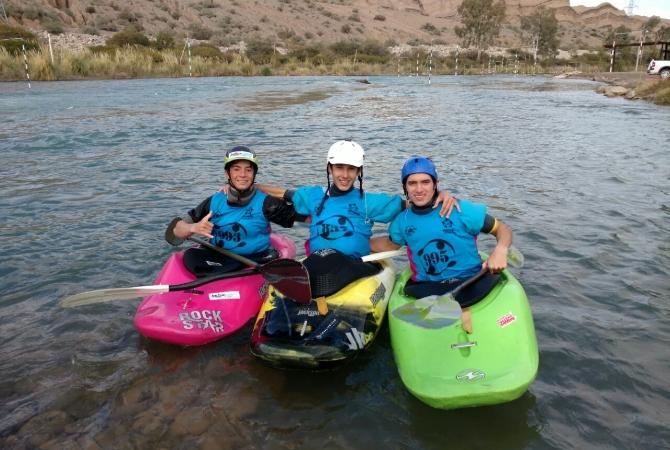 Seleccionaron a cinco sanjuaninos para el mundial de kayak