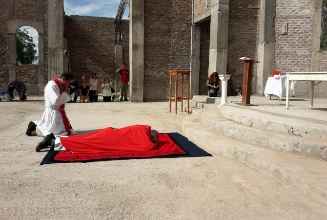 San Expedito fue testigo de la celebración de la cruz